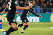 Leandro Trossard in action during the Premier League match between Crystal Palace and Brighton and Hove Albion at Selhurst Park, London, England on 16 December 2019.