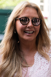 © Licensed to London News Pictures. 15/06/2018. London, UK. Carole Vorderman attends the memorial service for Professor Stephen Hawkin at Westminster Abbey. Photo credit: Ray Tang/LNP