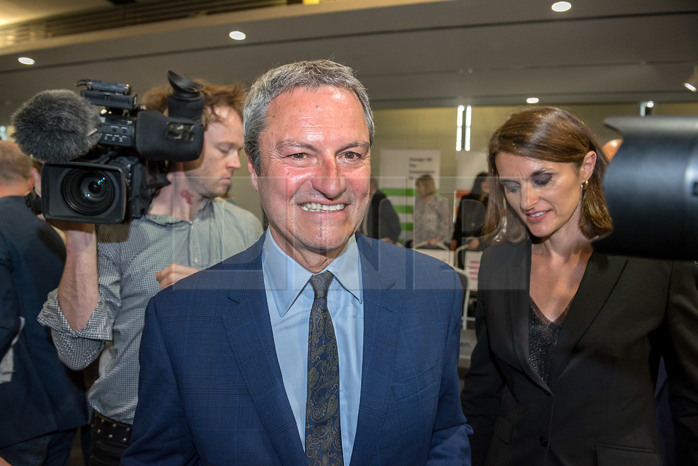 © Licensed to London News Pictures. 23/04/2019. Bristol, UK. GAVIN ESLER a Change UK candidate for the EU elections, at Change UK – The Independent Group holding their European election campaign launch at We The Curious in Bristol's Millennium Square. Photo credit: Simon Chapman/LNP