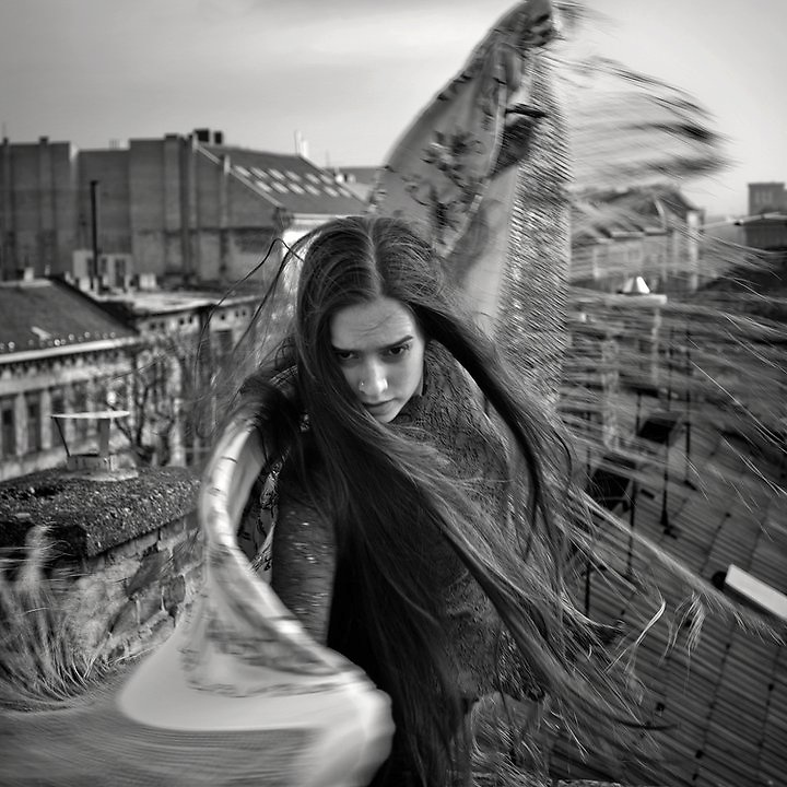 dancer on the roof