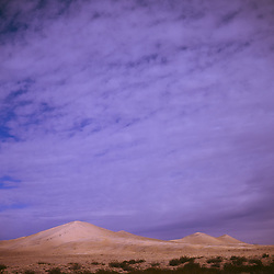 Morning at the Kelso Sand Dunes. Mojave National Preserve, CA.