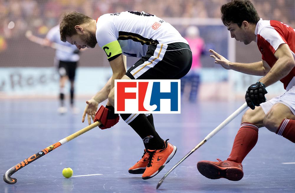 BERLIN - Indoor Hockey World Cup<br /> Final: Germany - Austria<br /> foto: Martin H&auml;ner.<br /> WORLDSPORTPICS COPYRIGHT FRANK UIJLENBROEK