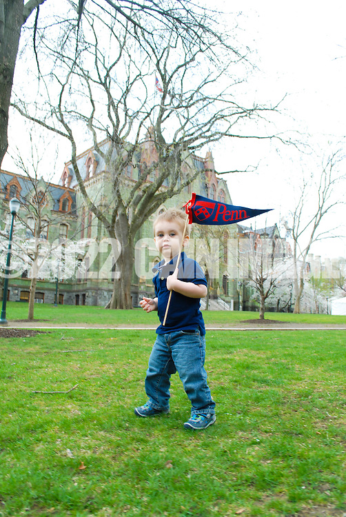 PHILADELPHIA, PA. - APRIL 11: The LeBar family is photographed at the University of Pennsylvania April 11, 2013 in Philadelphia, Pennsylvania. (Photo by William Thomas Cain/Cain Images)