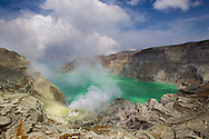 Cratere du Kawah Ijen, Java, Indonesia