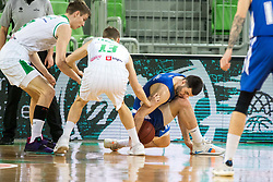 Marko Pajic of KK Rogaska during 2nd leg basketball match between KK Petrol Olimpija and KK Rogaska in quarter final of  Pokal SPAR 2018/19, on January 14, 2019 in Arena Stozice, Ljubljana, Slovenia. Photo by Matic Ritonja / Sportida