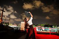 חזרה גנראלית לקראת האופרה כרמן בפארק הירקון <br /> מופע האופרה הצרפתית