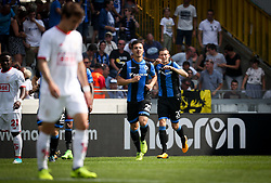 August 27, 2017 - Brugge, BELGIUM - Club's Hans Vanaken celebrates after scoring during the Jupiler Pro League match between Club Brugge and Standard de Liege, in Brugge, Sunday 27 August 2017, on the fifth day of the Jupiler Pro League, the Belgian soccer championship season 2017-2018. BELGA PHOTO VIRGINIE LEFOUR (Credit Image: © Virginie Lefour/Belga via ZUMA Press)