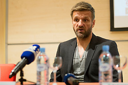 Igor Biscan, head coach of NK Olimpija during press conference of NK Olimpija before new season of PLTS, on July 14, 2017 in Austria Trend Hotel, Ljubljana, Slovenia. Photo by Urban Urbanc / Sportida