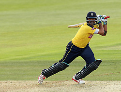 Hampshire's Owais Shah - Photo mandatory by-line: Robbie Stephenson/JMP - Mobile: 07966 386802 - 19/06/2015 - SPORT - Cricket - Southampton - The Ageas Bowl - Hampshire v Sussex - Natwest T20 Blast