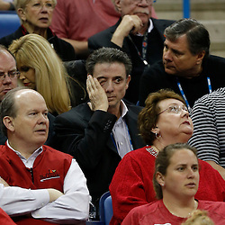 Apr 9, 2013; New Orleans, LA, USA; Louisville Cardinals men's basketball head coach Rick Pitino reacts against the Connecticut Huskies during the second half of the championship game in the 2013 NCAA womens Final Four at the New Orleans Arena. Mandatory Credit: Derick E. Hingle-USA TODAY Sports