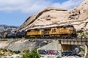 Mormon Rocks At Cajon Pass In San Bernardino County