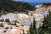 Bumpass Hell at Lassan Volcanic National Park