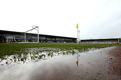 A general view of The Pirelli Stadium, home of Burton Albion - Mandatory by-line: Robbie Stephenson/JMP - 10/03/2018 - FOOTBALL - Pirelli Stadium - Burton upon Trent, England - Burton Albion v Bristol City - Sky Bet Championship
