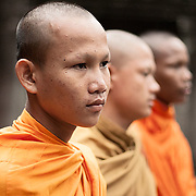 Young monks at Angkor Wat, Cambodia