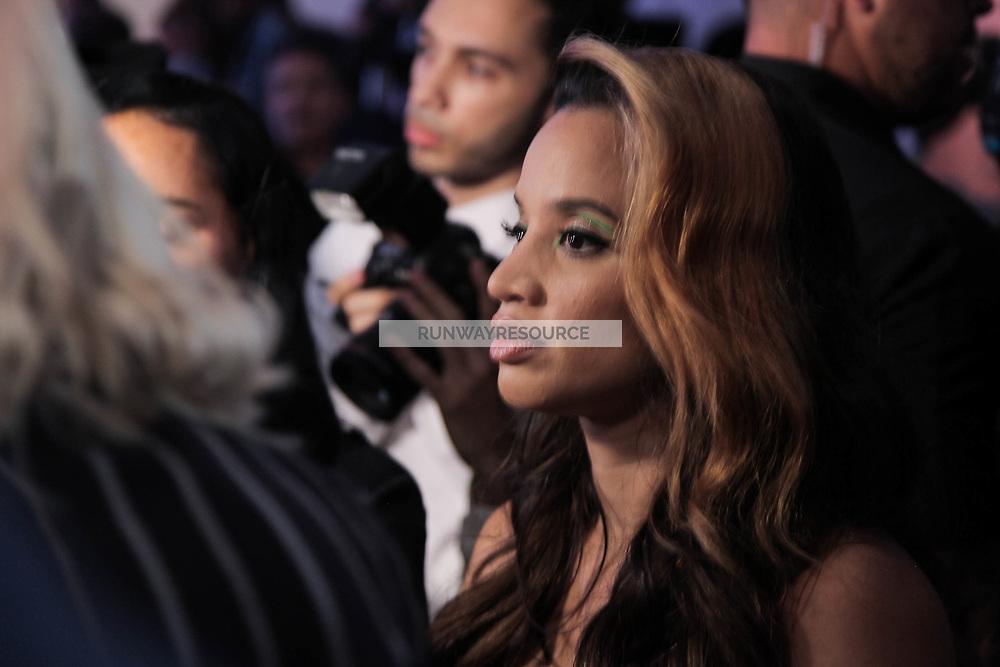 Dascha Polanco attends Klarna STYLE360 NYFW Hosts S by Serena Fashion Show