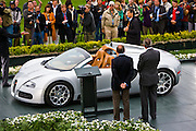 Bugatti unveiled the Veyron 16.4 Grand Sport at the 2008 Pebble Beach Concourse d?Elegance.