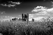 Bawsey Ruins, old church near Kings Lynn, UK
