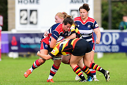 Daisy Mayes of Bristol Ladies in action - Mandatory by-line: Craig Thomas/JMP - 17/09/2017 - Rugby - Cleve Rugby Ground  - Bristol, England - Bristol Ladies  v Richmond Ladies - Women's Premier 15s
