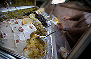 ISTANBUL, TURKEY - NOVEMBER 24, 2003: The end of the ramadan is celebrated with the yearly Sugar feast EID AL FITR.