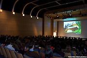 """Conférence de l'architecte et journaliste Dominique Gauzin- Müller - """"l?architecture écologique du Vorarlberg en Autriche : un modèle social, culturel et économique"""". -  CCA - Centre Canadien d'architecture / Montreal / Canada / 2009-02-04, © Photo Marc Gibert / adecom.ca"""
