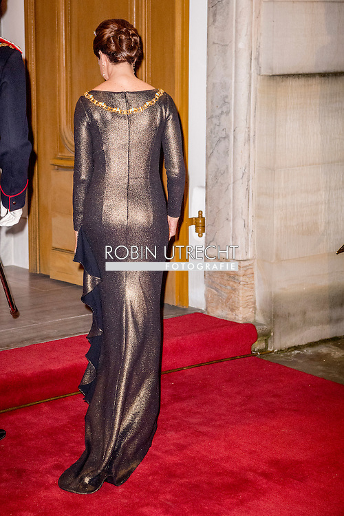 1-1-2017 - COPENHAGEN - Prince Joachim and Princess Marie of Denmark arrive at the annual New Years reception in Amalienborg Palace in Copenhagen, Denmark, Danish royal family attend New Years reception 2017 COPYRIGHT ROBIN UTRECHT<br /> Prins Joachim en Prinses Marie van Denemarken aankomt op de jaarlijkse nieuwjaarsreceptie in Amalienborg in Kopenhagen, Denemarken, de Deense koninklijke familie wonen Nieuwjaarsreceptie 2017