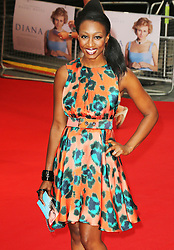 © Licensed to London News Pictures. 05/09/2013, UK.    Beverley Knight , Diana - World film premiere, Odeon cinema Leicester Square, London UK, 05 September 2013. Photo credit : Richard Goldschmidt/Piqtured/LNP