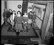 Girls on ESB Training Course.10/03/1970