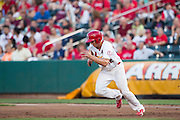 Stephen Piscotty (12) of the Springfield Cardinals takes off toward second base during a game against the Northwest Arkansas Naturals at Hammons Field on August 23, 2013 in Springfield, Missouri. (David Welker)