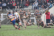 Premier  grade Rugby union match between Tawa v Upper Hutt Rams  at Maidstone Park,, Wellington, New Zealand on 23 July 2016. Game won 17-15 by Tawa.