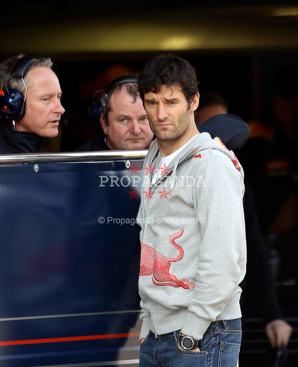 09.03.2011, Circuit de Catalunya, Barcelona, ESP, Formel 1 Test 4 2011,  im Bild Mark Webber (AUS), Red Bull Racing .EXPA Pictures © 2011, PhotoCredit: EXPA/ nph/  Poleposition.at       ****** only for AUT ans SLO *******