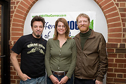 David Lowery and Johnny Hickman of Cracker performed in the studios of 106.1FM's The Corner on March 2, 2007 in Charlottesville, VA.