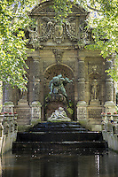 Luxembourg, the Médicis fountain.<br /> This magnificent formal garden is also an open-air sculpture museum – and you can learn all about arboriculture and apiculture here too.