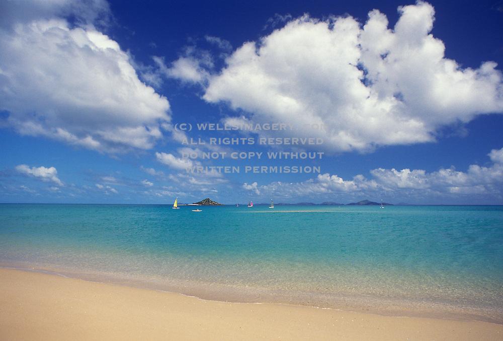 Image of the Whitsunday Islands in Australia