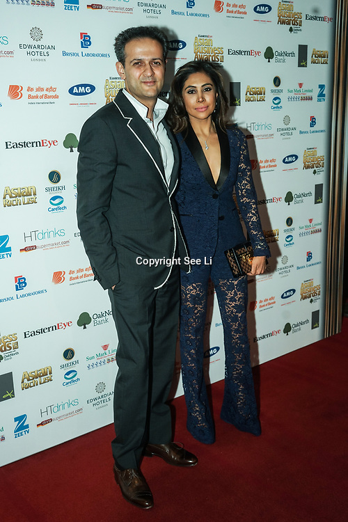 Celebrities and guests attands the 2017 Asian Business Awards,London,UK. by See Li
