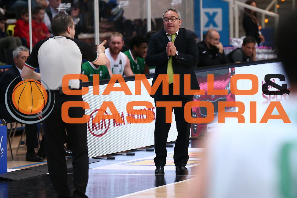 Sacripanti Stefano<br /> Dolomiti Energia Trentino vs Sidigas Avellino<br /> Lega Basket Serie A 2016/2017<br /> Trento, 07/05/2017<br /> Foto Ciamillo-Castoria/A. Gilardi