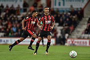 AFC Bournemouth midfielder Junior Stanislas (19) during the EFL Cup match between Bournemouth and Brighton and Hove Albion at the Vitality Stadium, Bournemouth, England on 19 September 2017. Photo by Adam Rivers.