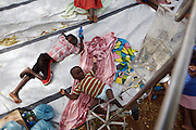 Five (5) year old Kwinda Humbulani recovers from Cholera at Musina Hospital in South Africa with the aid of intravenous fluids...There were 664 confirmed cases of Cholera at the border town of Musina in South Africa. Officially the outbreak is under control, with the confirmed number of deaths from Cholera at 8 people. 51 of those admitted to the hospital have been under the age of 5 years old...Limpopo Health department has been working closely with IRC, Save the Children (UK), WHO and MSF to bring the outbreak under control through treatment and education programs in bordering villages and at the main IDP camp at Musina Showground..
