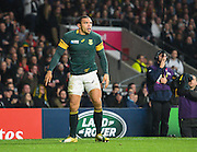 South Africa wing Bryan Habana during the Rugby World Cup Semi-Final match between South Africa and New Zealand at Twickenham, Richmond, United Kingdom on 24 October 2015. Photo by David Charbit.