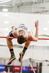 Boston University John Terrier Classic Indoor Track & Field: mens high jump Rhode Island