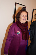 SUZY MENKES, Cecil Beaton private view. V and A Museum. London. 6 February 2012