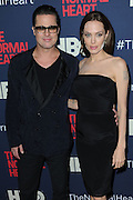 May 12, 2014 - New York, NY, USA - <br /> <br /> Brad Pitt and Angelina Jolie attending the New York premiere of 'The Normal Heart'<br /> <br /> Brad Pitt and Angelina Jolie attending the New York premiere of 'The Normal Heart' at Ziegfeld Theater on May 12, 2014 in New York City  ©Exclusivepix