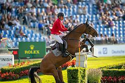 Schwizer Pius, SUI, Chaquilot<br /> CHIO Aachen 2019<br /> Weltfest des Pferdesports<br /> © Hippo Foto - Stefan Lafrentz<br /> Schwizer Pius, SUI, Chaquilot