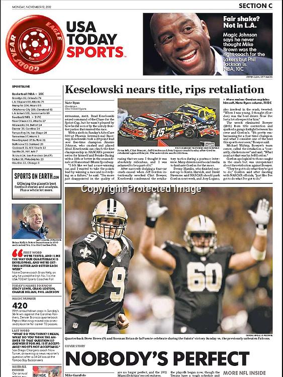 USA Today Sports - Drew Brees