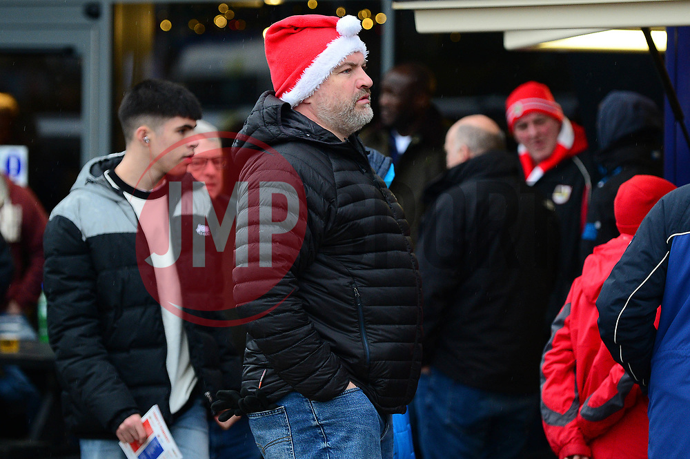 Bristol City fans arrive at Ashton Gate for the Boxing Day game against Reading - Mandatory by-line: Dougie Allward/JMP - 26/12/2017 - FOOTBALL - Ashton Gate Stadium - Bristol, England - Bristol City v Reading - Sky Bet Championship