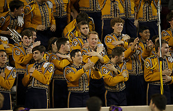 LSU Band an NCAA college football game Thursday, Nov. 24, 2016, in College Station, Texas. (Sam Craft/The Eagle)