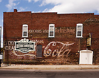 Coca Cola advertisement, Lebanon, Tennessee