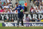 England Wicketkeeper Jos Buttler during the Royal London One Day International match between England and New Zealand at the Oval, London, United Kingdom on 12 June 2015. Photo by Phil Duncan.