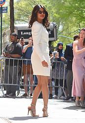 May 4, 2018 - New York City, New York, USA - 5/3/18.Priyanka Chopra is seen at ''The View'' in New York City..(NYC) (Credit Image: © Starmax/Newscom via ZUMA Press)