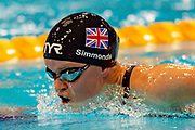 Ellie Simmonds of Great Britain in action during the Women's 200 m Individual Medley SM6 at the World Para Swimming Championships 2019 Day 3 held at London Aquatics Centre, London, United Kingdom on 11 September 2019.