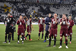 May 3, 2019 - Torino, Torino, Italia - Foto LaPresse - Fabio Ferrari.03 Maggio 2019 Torino, Italia .Sport.Calcio.ESCLUSIVA TORINO FC.Juventus Fc vs Torino Fc - Campionato di calcio Serie A TIM 2018/2019 - Allianz Stadium..Nella foto:i giocatori del Torino a fine partita..Photo LaPresse - Fabio Ferrari.May 03, 2019 Turin, Italy.sport.soccer.EXCLUSIVE TORINO FC.Juventus Fc vs Torino Fc - Italian Football Championship League A TIM 2018/2019 - Allianz Stadium..In the pic:team of Torino Fc end of match (Credit Image: © Fabio Ferrari/Lapresse via ZUMA Press)